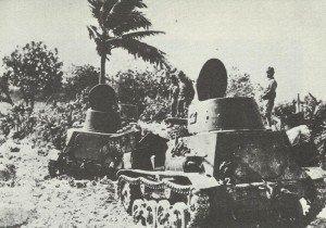 Japanese Tanketten M 2592