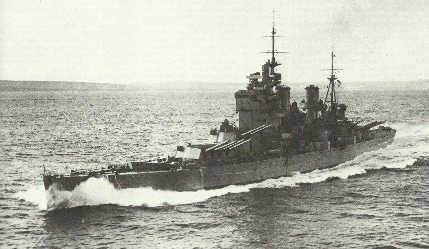 Battleship HMS King George V