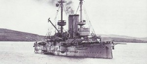 British armoured cruiser 'Canopus'