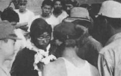 Saburo Sakai after lost his eye