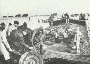 loading on landing barges