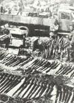 captured Ariska rifles