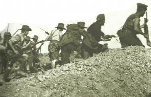 Australian assaults on Gallipoli