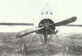 Fokker E IV of Immelmann.
