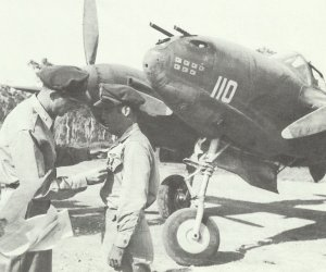 Captain T G Lanphier is awarded the Silver Star