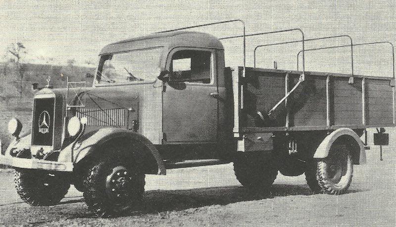 Mercedes-Benz Typ L 3000 A.