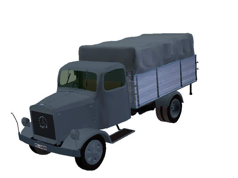 3D Model Mercedes L 3000