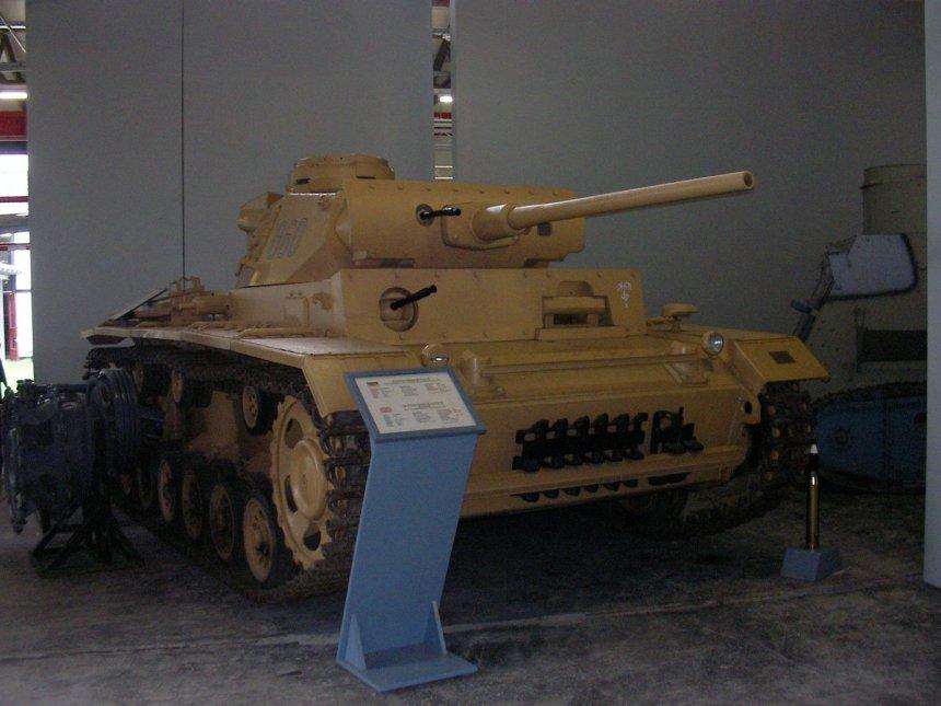Panzer III (SdKfz 141/1)