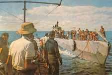 Two German Type IX U-Boats