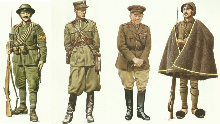 Soldiers of the Greek Army 1940-41