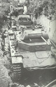 Washing Panzer II