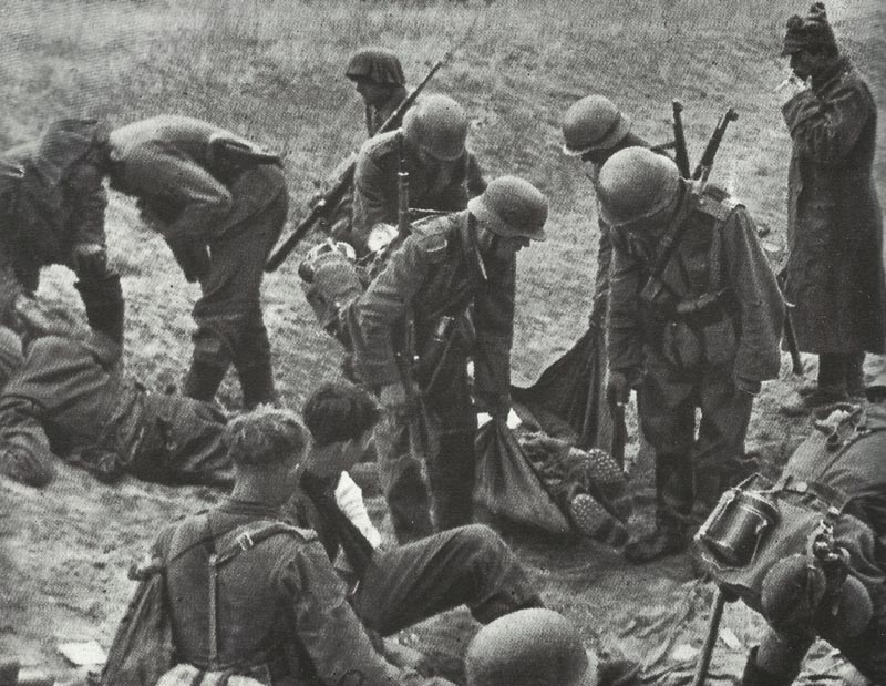 dead and wounded at Kursk