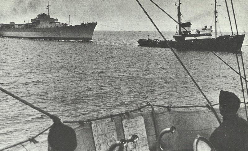 Heavy cruiser Admiral Hipper, Blücher, Prinz Eugen