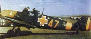 Bf 109 of Romanian Air Force