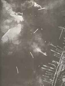 Port of Taranto after Britsih air raid