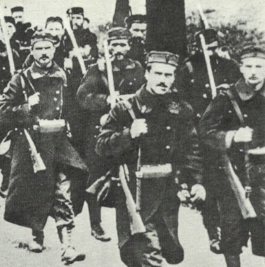 Belgian soldiers 1914
