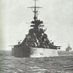 Bismarck of aft.