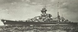 heavy cruiser 'Admiral Hipper'