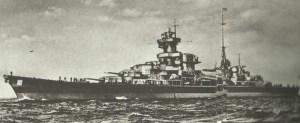 heavy cruiser 'Admiral Hipper'