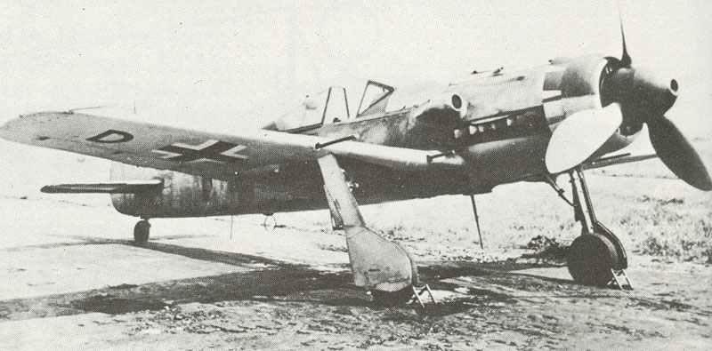Fw 190 D development aircraft