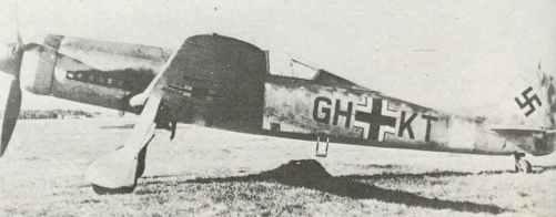 Ta 152 H development aircraft