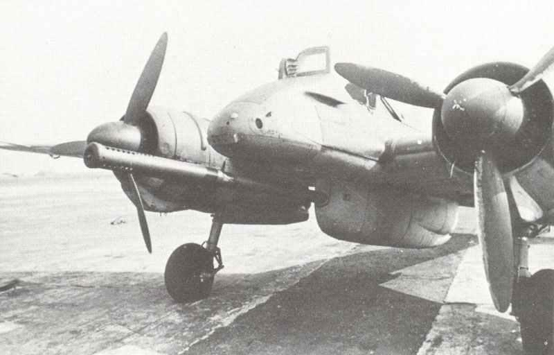 Hs 129B-3/Wa anti-tank aircraft