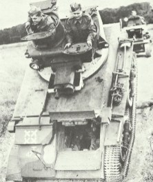 Light Tank Mk VIB in use for training