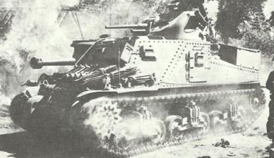 M3A5 in Burma