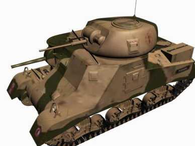 3d model M3 Grant