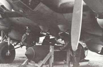 heavy bomb He 111