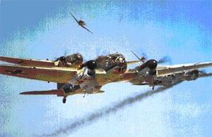 He 111 bombers