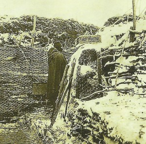 Austro-Hungarian trench in Galicia