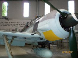 Fw 190 A-8 from aircraft museum