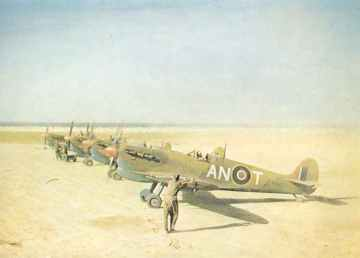 tropicalised Spitfire VC 's