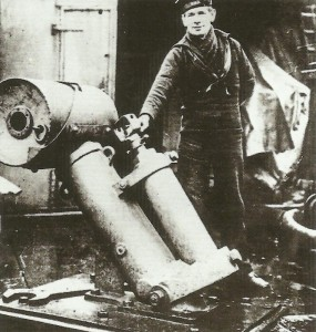 first successful depth-charge launchers