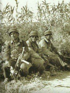 German paratroopers on Crete