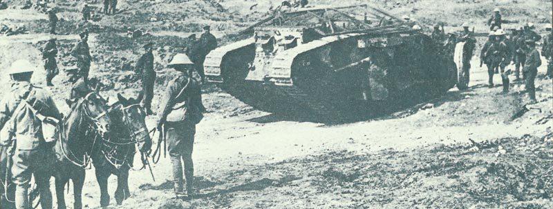 Mark I tank C-19