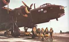 Short S.29 Stirling heavy four-engined bombers