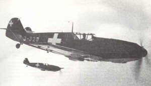 Swiss Me 109 fighters