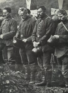 German soldiers at a funeral