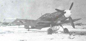 Bulgarian Bf 109 G-2.