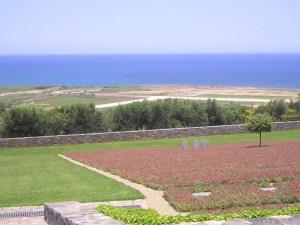 German military cemetery in Crete