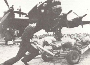 bombs for a Handley Page Halifax