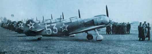 La-5FN fighters