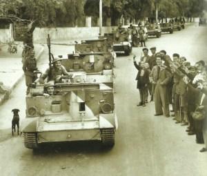 British troops Chania, Crete