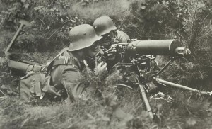 German machine-gunners