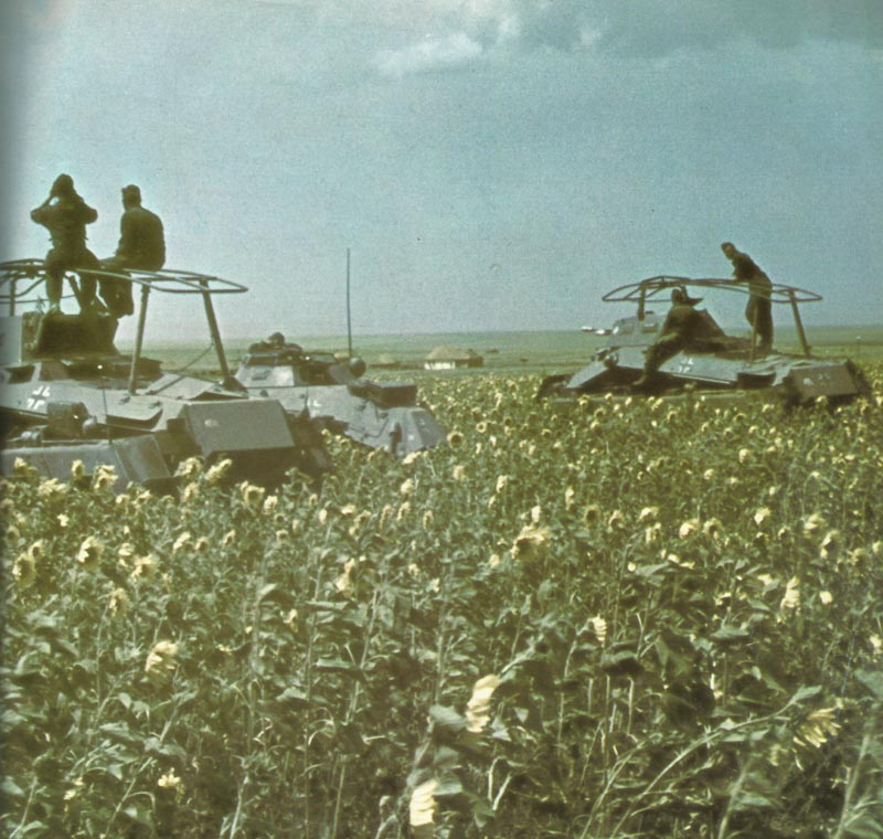German armored cars Donets Basin Steppes