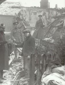 after a Zeppelin raid