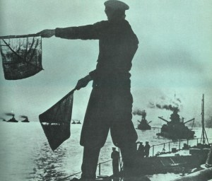 British Grand Fleet head out