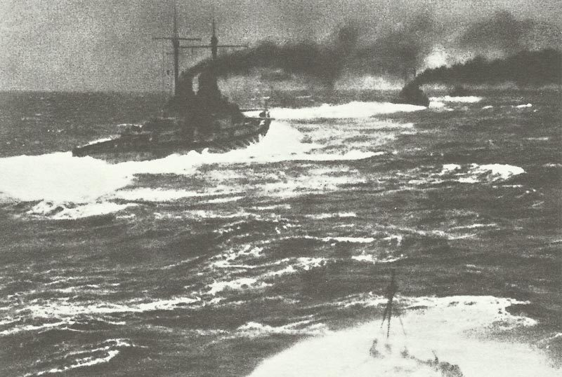 German High Sea head out into the Battle of Jutland